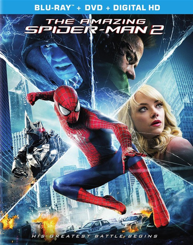 The Amazing Spider Man 2 (Blu-ray ONLY USED)