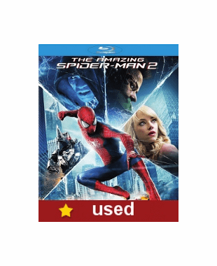 The Amazing Spider Man 2 Blu-ray (USED)