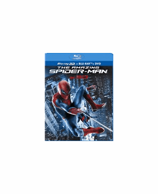 The Amazing Spider-Man 3D Blu-ray (USED)