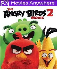 The Angry Birds 2 HD Vudu or iTunes Code via MA