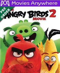 The Angry Birds 2 HD Vudu or iTunes Code via MA (PRE-ORDER WILL EMAIL BETWEEN Nov 12 -14)