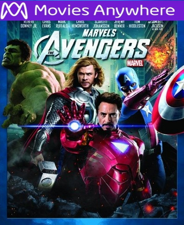 The Avengers Vudu or iTunes Code via MA