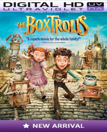 The Boxtrolls HD Digital Ultraviolet UV Code