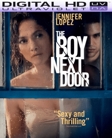 The Boy Next Door HD Digital Ultraviolet UV Code
