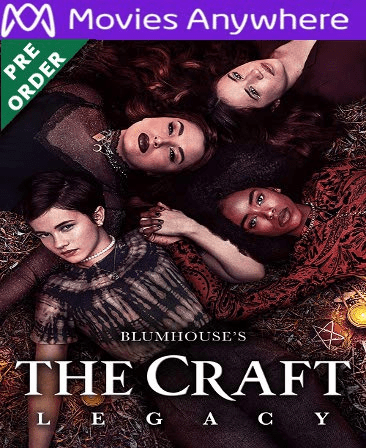 The Craft Legacy HD Vudu or iTunes Code via MA (PRE-ORDER This title has not yet been released.)