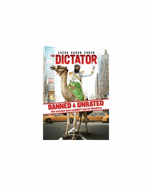 The Dictator Banned & Unrated Version DVD