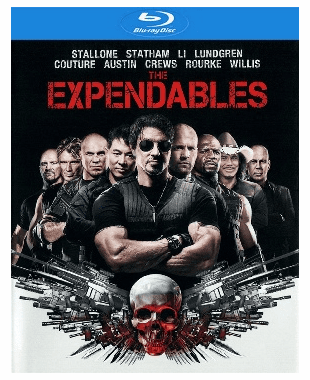 The Expendables Blu-ray Movie