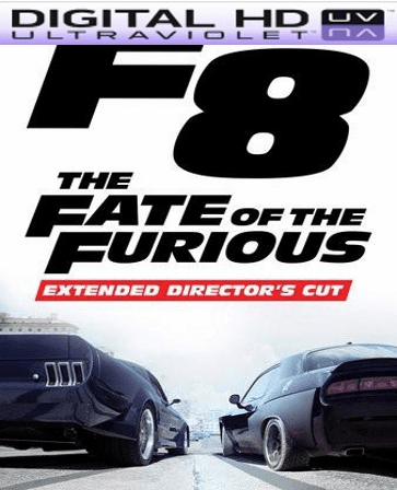 The Fate of the Furious Extended Director's Cut HD Ultraviolet UV Code