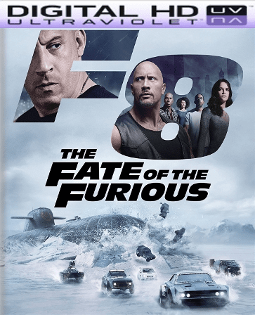 The Fate of the Furious Theatrical Version HD Ultraviolet UV Code