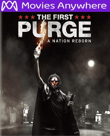 The First Purge HD UV or iTunes Code via MA