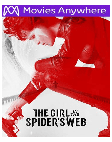 The Girl in the Spider's Web HD UV or iTunes Code via MA