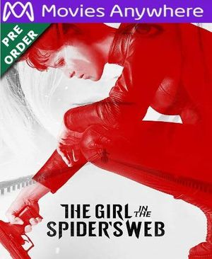 The Girl in the Spider's Web HD UV or iTunes Code via MA (PRE-ORDER WILL EMAIL ON OR BEFORE BLU RAY RELEASE)