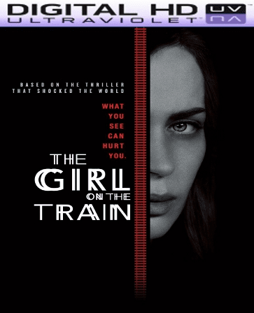 The Girl on the Train HD Digital Ultraviolet UV Code