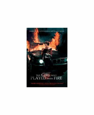 The Girl Who Played With Fire DVD Movie (USED)