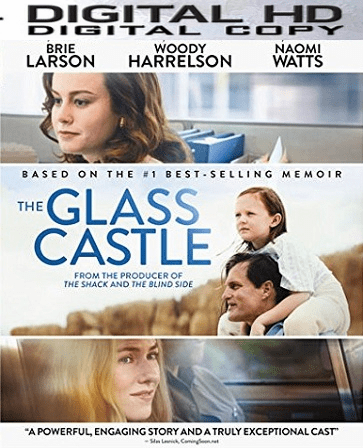 The Glass Castle HD UV or iTunes Code Via Movies Anywhere