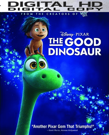 The Good Dinosaur HD Digital Copy Code (VUDU)