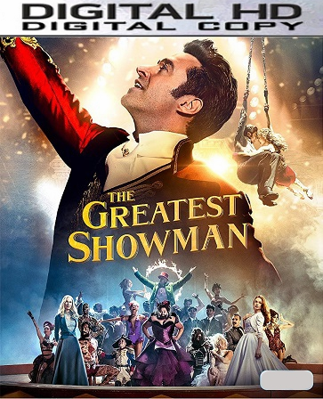 The Greatest Showman HD UV or iTunes Code