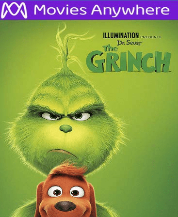 The Grinch HD UV or iTunes Code via MA