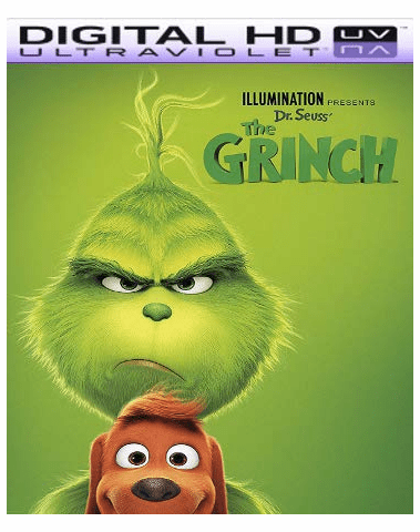 The Grinch HD Vudu Ports To Movies Anywhere & iTunes (Insta Watch)