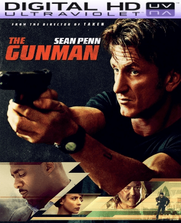 The Gunman HD Digital Ultraviolet UV Code