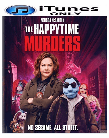 The Happytime Murders HD iTunes Code