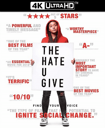 The Hate U Give 4K Vudu Ports To Movies Anywhere & iTunes (Insta Watch)