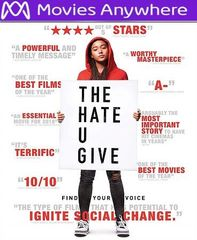 The Hate U Give HD UV or iTunes Code via MA