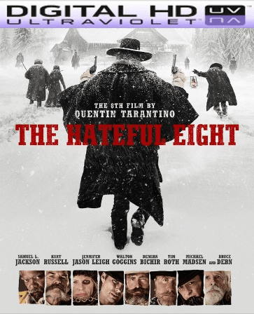 The Hateful Eight HD Digital Ultraviolet UV Code