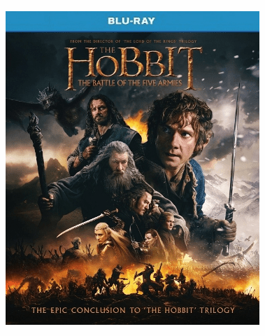 The Hobbit The Battle Of The Five Armies Blu-ray Single Disc
