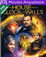 The House with a Clock in Its Walls HD UV or iTunes Code via MA (PRE-ORDER WILL EMAIL ON OR BEFORE 12-18-18)