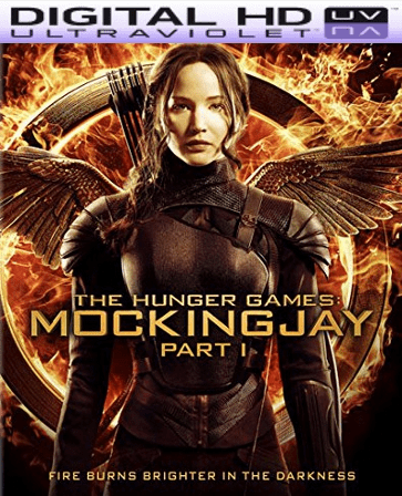 The Hunger Games Mockingjay Part 1 HD Digital Ultraviolet UV Code