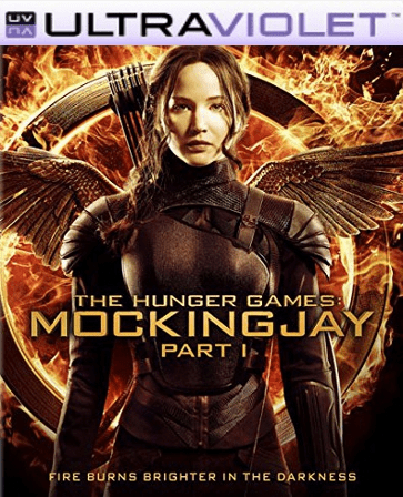 The Hunger Games Mockingjay Part 1 SD Digital Ultraviolet UV Code