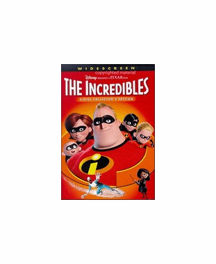The Incredibles 2 Disc DVD Collectors Edition