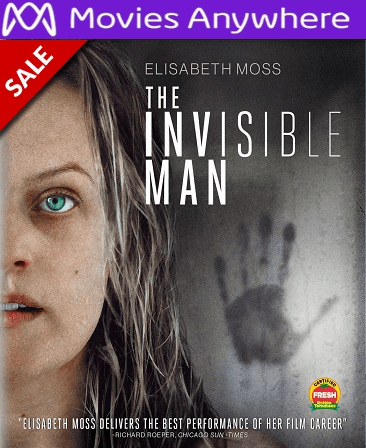 The Invisible Man (2020) HD Vudu or iTunes Code via MA