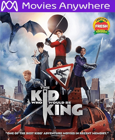 The Kid Who Would Be King HD UV or iTunes Code via MA