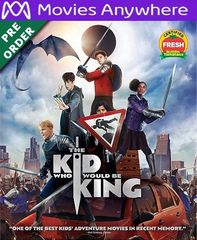 The Kid Who Would Be King HD UV or iTunes Code via MA (PRE-ORDER WILL EMAIL ON OR BEFORE BLU RAY RELEASE)