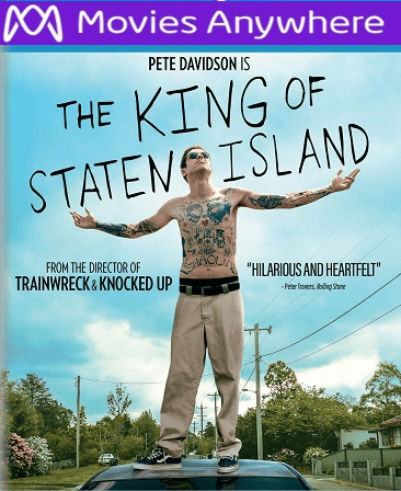 The King of Staten Island HD Vudu or iTunes Code via MA