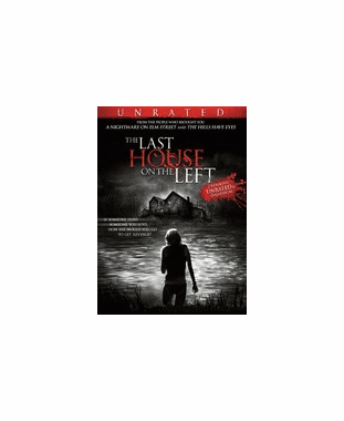 The Last House On The Left  Unrated  DVD Movie (USED)