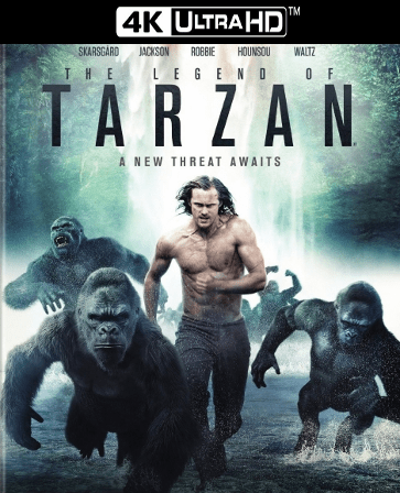 The Legend of Tarzan 4K UHD Ultraviolet UV Code