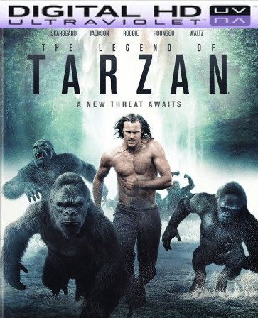The Legend of Tarzan HD Digital Ultraviolet UV Code (LIMITED SUPPLY)