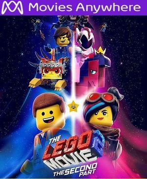 The Lego Movie : The Second Part HD UV or iTunes Code via MA