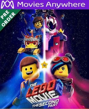 The Lego Movie : The Second Part HD UV or iTunes Code via MA (PRE-ORDER WILL EMAIL ON OR BEFORE BLU RAY RELEASE)