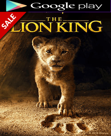 The Lion King 2019 HD Google Play Code