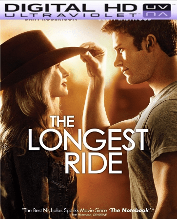 The Longest Ride HD Digital Ultraviolet UV Code