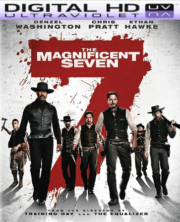 The Magnificent Seven HD Digital Ultraviolet UV Code