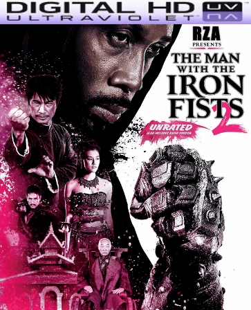 The Man with the Iron Fist 2 HD Digital Ultraviolet UV Code (Vudu)