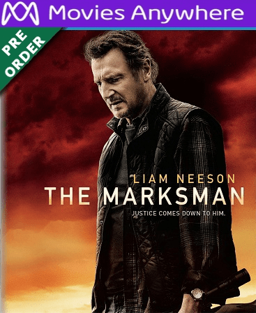 The Marksman HD Vudu or iTunes Code via MA PRE ORDER WILL EMAIL ON 5-13