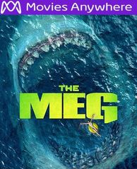 The Meg HD UV or iTunes Code via MA