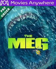 The Meg HD UV or iTunes Code via MA (PRE-ORDER WILL EMAIL ON OR BEFORE BLU RAY RELEASE)
