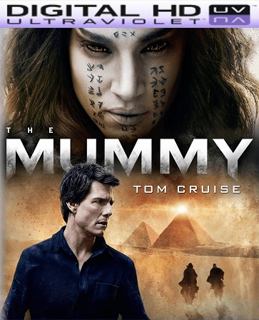 The Mummy 2017 HD Ultraviolet UV Code